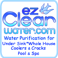 EZ Clear Water - Best Water Purification Systems for Whole House, Drinking Water, Water Coolers