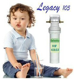 Scale picture of Legacy 105 Under the Sink Water Filtler