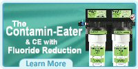 Contamin-Eater Whole House Water Filter-Purification System