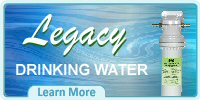 Legacy Drinking Water Filter-Purification System