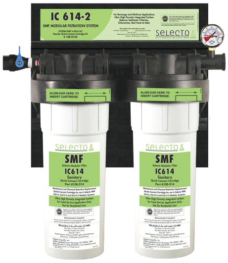 Selecto SMF IC614-2 Water Filter for Fountain Applications