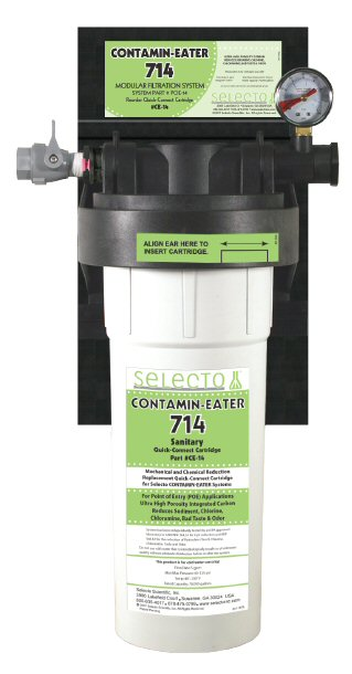 Contamin-Eater 714 Whole House Water Filter 70,000 gallon capacity